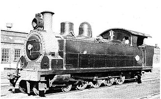 1909 in South Africa - NGR Class C 4-8-2T
