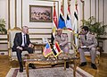 SD visits Egypt SD meets with Egypt's minister of defense (34136487766).jpg