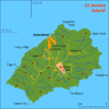 Another map of St Helena