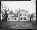 SOUTH ELEVATION - Jansonist Colony, Jacob Jacobson House, Bishop Hill Street, Bishop Hill, Henry County, IL HABS ILL,37-BISH,15-5.tif