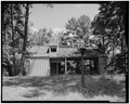 SOUTH FACADE - Pond House, Fish Pond Road (near Old Plains Highway), Plains, Sumter County, GA HABS GA,131-PLAIN,19-1.tif