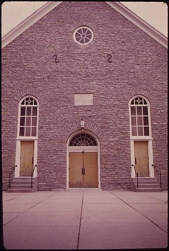 New Minden, Illinois - St. John's Lutheran Church in New Minden