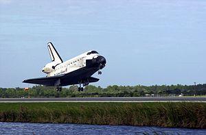 STS-108 Landing