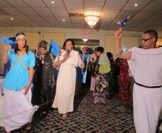 Saado Ali Warsame - Saado Ali Warsame performing at a Somali community event organized in her honour (2011).