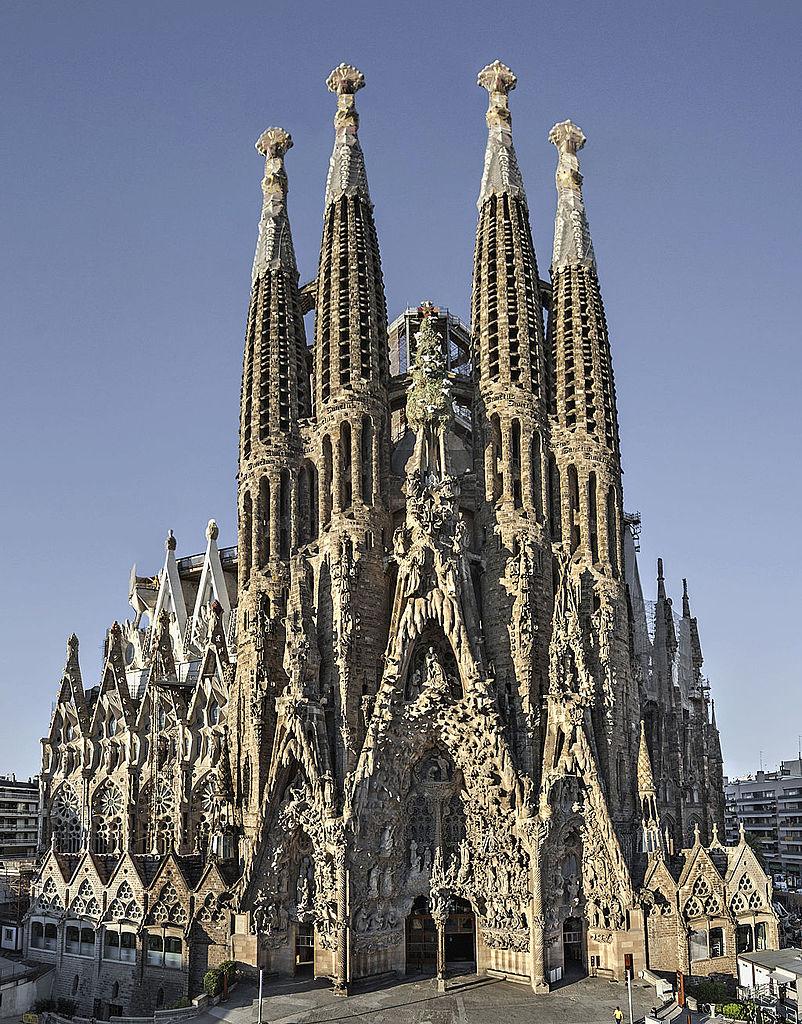 Sagrada Familia - one of the top tourist spots in barcelona