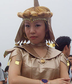 Cosplay de Sailor Galaxia