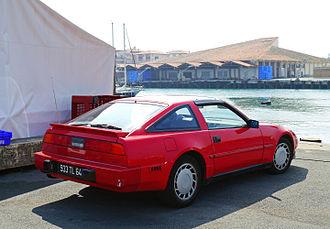 Nissan 300ZX - 1989 Nissan 300ZX rear