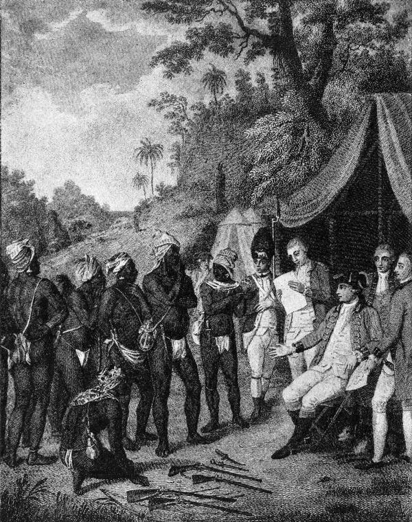 SaintVincent Carib Treaty Negotiation 1773