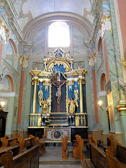 Saint Anne church in Lubartów - Interior - 13.jpg