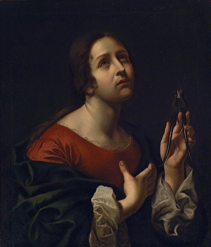 Святая Аполлония (в честь Карло Дольчи) .jpg