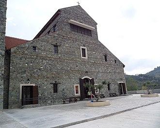 Kyperounta - Image: Saint Arsenios church at Kyperounta 7