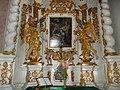 Saint Bernard church, praying in Eger, 2016 Hungary.jpg