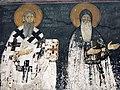 Saint Sava and Saint Simeon fresco, Studenica monastery.jpg