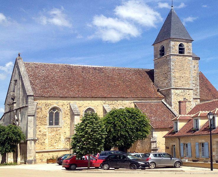 Église Sainte-Colombe de Sainte-Colombe-sur-Loing.