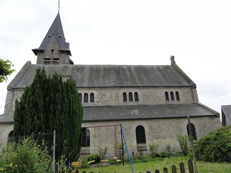Sainte-Croix (Aisne) église Sainte-Croix