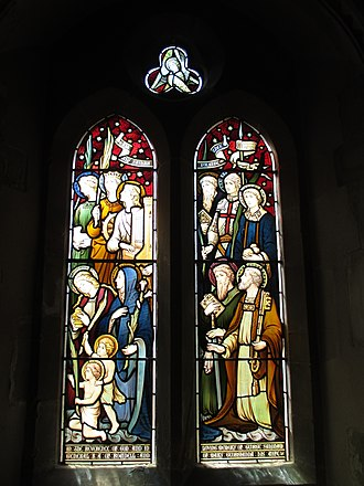 Hardman & Co. - Saints of Praise, St Mary's Church, Washington, West Sussex