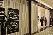 9bae8d1c1c305 Saks Fifth Avenue - Wikipedia