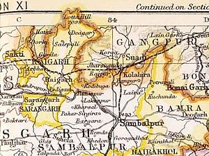 Raigarh State - Raigarh State in the Imperial Gazetteer of India