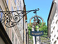 Salzburg Getreidegasse Schild Stassny.jpg