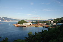 Samho Ship Building from Gajodo Suspension Bridge.JPG
