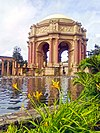 San Francisco Palace of Fine Arts - with Trees 02.jpg