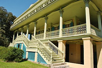 St. John the Baptist Parish, Louisiana - Image: San Francisco Plantation House 043