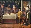 San Giacomo dall'Orio (Venice) - Cena in Emmaus (principio secolo XVI), di scuola di Bonifazio Veronese.jpg