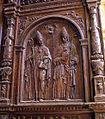 San Isidoro y San Leandro, en la puerta que comunica la Sacristía mayor con la capilla de la Antesacristía.jpg