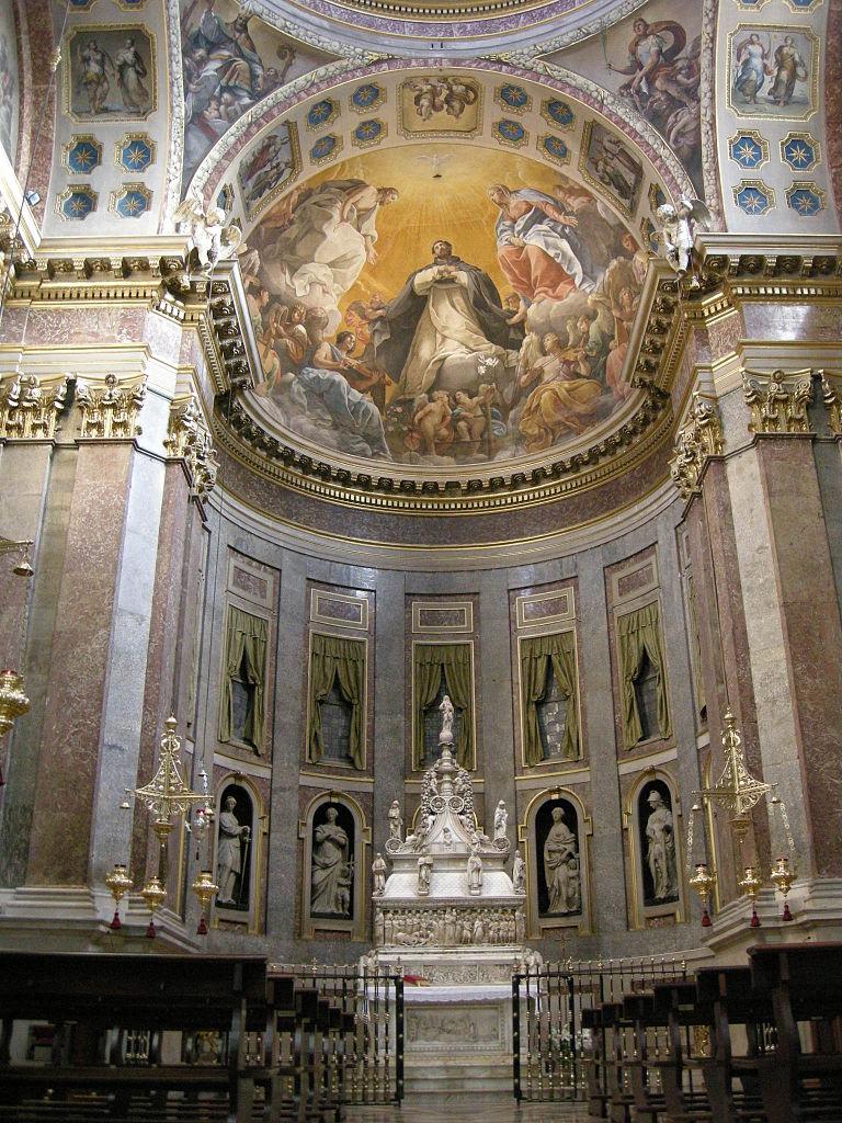 File:San domenico, bologna, interno, arca di san domenico