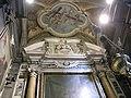 San gaetano, transetto sx, cappella bonsi della croce, volo d'angeli di jacopo vignali e busto di Sebastiano Pettirossi.JPG
