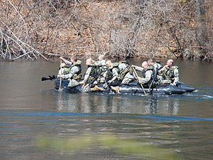 Sandhurst Competition - Image: Sandhurst 09 Boat Event