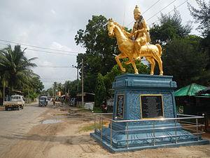 Cankili II - King Sangiliyan Statue in Jaffna