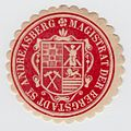 Sankt Andreasberg Siegel des Magistrat der Bergstadt.jpg