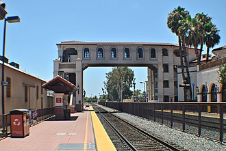 OC Streetcar - Santa Ana Regional Transportation Center, at the future eastern terminus