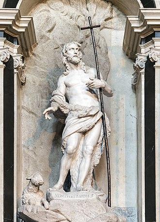 Melchior Barthel - John the Baptist Scalzi, Venice
