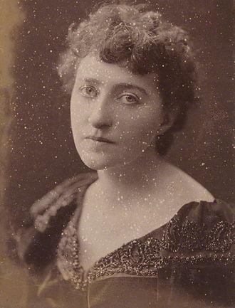 Sarah Grand - Sarah Grand, 1894, by H.S. Mendelssohn