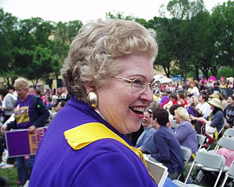 Sarah Weddington - Image: Sarah Weddington at March for Women's Lives 2004