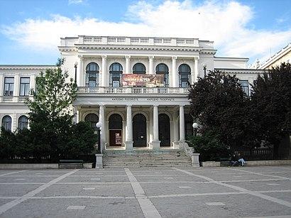 How to get to Narodno pozorište Sarajevo with public transit - About the place