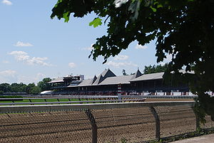 Saratoga Race Course - Race course from Union Avenue