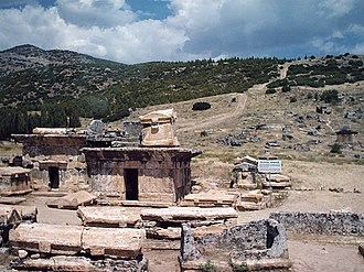 Hierapolis - Part of the archeological site of Hierapolis