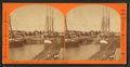 Sault Ste. Marie Canal, vessels in transit, by Childs, B. F..png