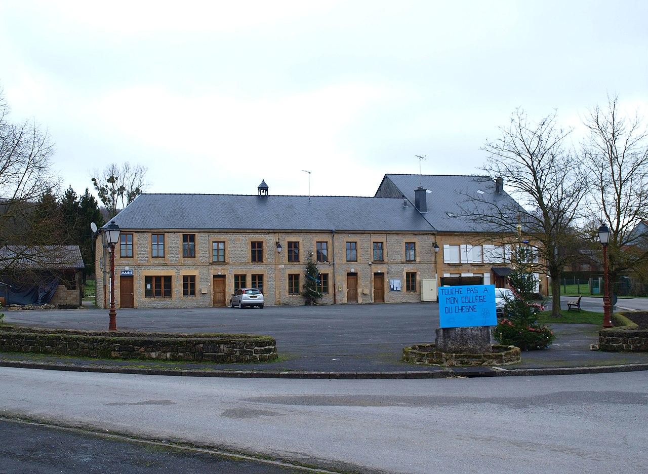 La place de la mairie.