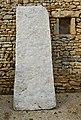 Savigné 86 Couvercle de sarcophage&mur 2013.jpg
