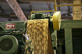 Brown waste - Sawdust is an example of brown waste.