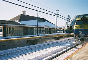 Sayville Station from across the tracks.jpg