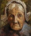 Schilderij van een oude vrouw door H.C. van Mourik ca. 1925.jpg