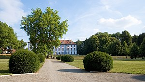 Obernzenn - The Blue Castle