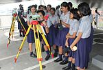 School Children visit onboard INS Darshak on the occasion of 2016 World Hydrography Day (1).jpg