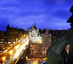 The Scotsman Hotel - Scotsman Hotel Exterior at night