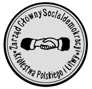 Social Democracy of the Kingdom of Poland and Lithuania - Image: Seal of the SDK Pi L